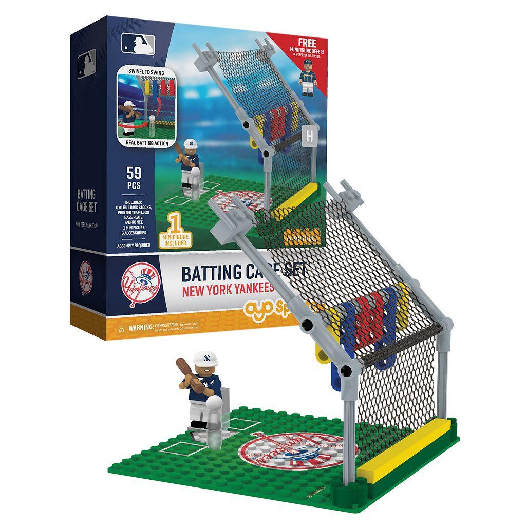OYO Sports New York Yankees 59-Piece Batting Cage Set
