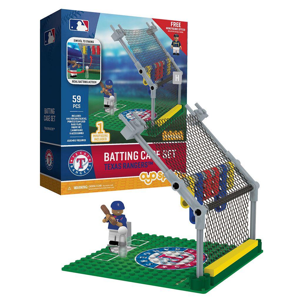 OYO Sports Texas Rangers 59-Piece Batting Cage Set
