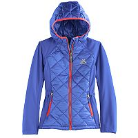 Girls 7-16 ZeroXposur Midweight Eleanor Puffer Transitional Jacket