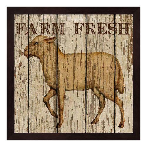 """""""Farm Fresh"""" Framed Wall Art"""