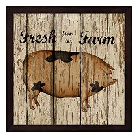 Farm Fresh Pork Framed Wall Art