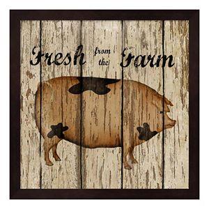 Farm Fresh Pork Framed Wall Art