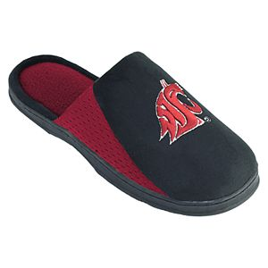 Men's Washington State Cougars Scuff Slippers