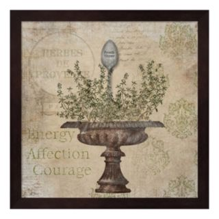 """""""French Thyme"""" Framed Wall Art"""