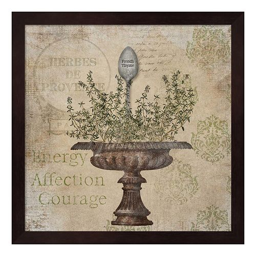 French Thyme Framed Wall Art
