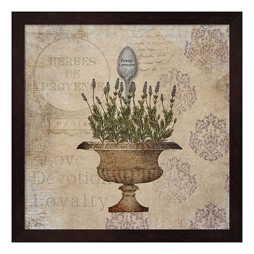 French Lavender Framed Wall Art