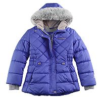 Girls 7-16 ZeroXposur Faux-Fur Trim Heavyweight Puffer Jacket