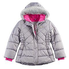 Girls 7-16 ZeroXposur Faux-Fur Trim Heavyweight Puffer Jacket