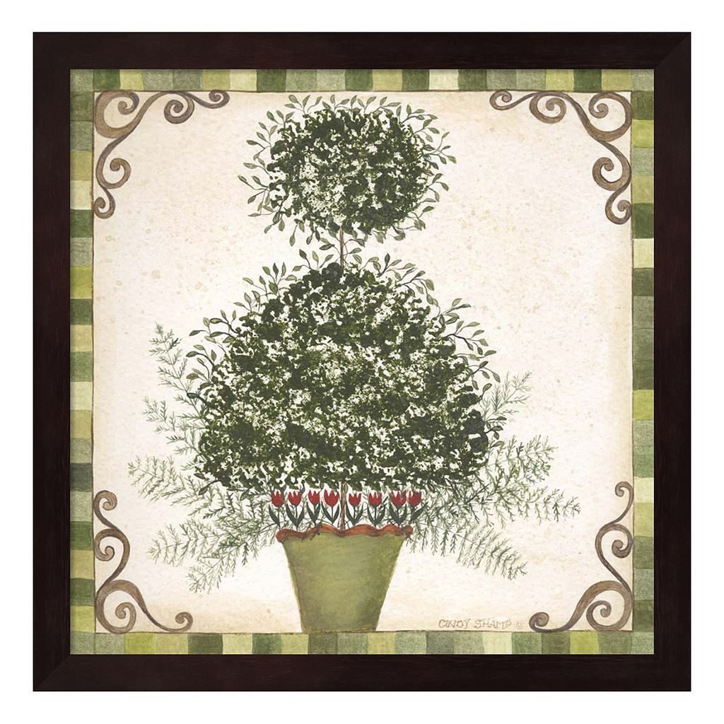 Topiary I Framed Wall Art