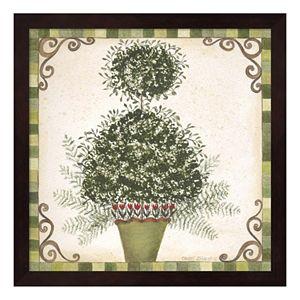 Topiary I Framed Wall Art