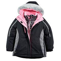 Girls 7-16 ZeroXposur Kiara Heavyweight Faux-Fur Trim Systems Jacket