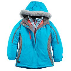 Girls 7-16 ZeroXposur Kiara Heavyweight Faux-Fur Trim Systems Jacket