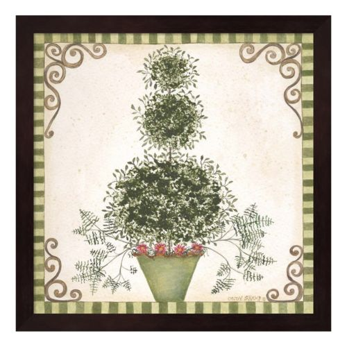 Topiary II Framed Wall Art