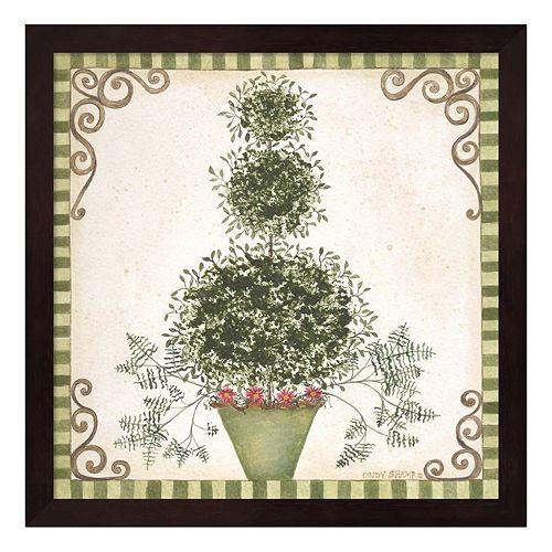 Topiary II Framed Wall Art