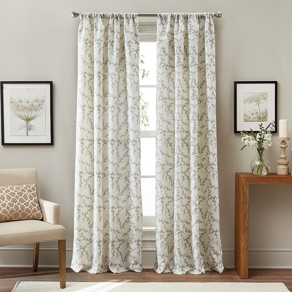 Curtainworks Sonnet Botanical Curtain