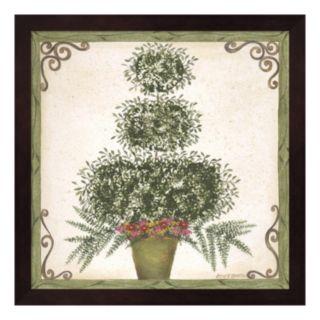 Topiary III Framed Wall Art