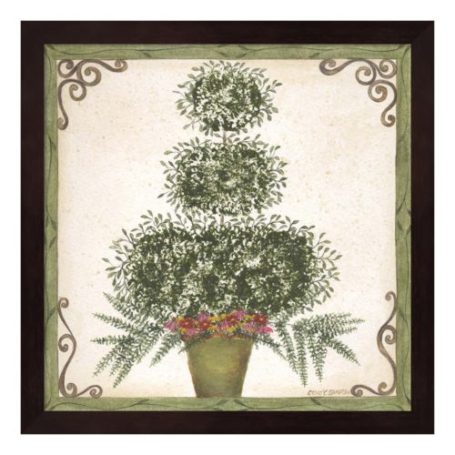 Topiary III Framed Wall Art