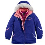 Girls 7-16 ZeroXposur Christine Heavyweight Faux-Fur Trim Systems Jacket