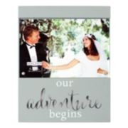 "Malden ""Our Adventure Begins"" 4"" x 6"" Frame"