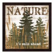 """""""Nature"""" Framed Wall Art"""