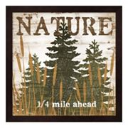 'Nature' Framed Wall Art
