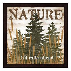'Nature' Framed Wall Art