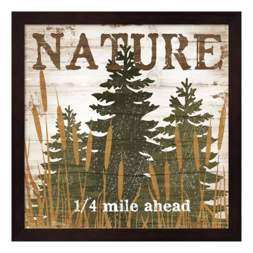 """Nature"" Framed Wall Art"