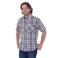 Big & Tall Dickies Relaxed-Fit Plaid Button-Down Shirt