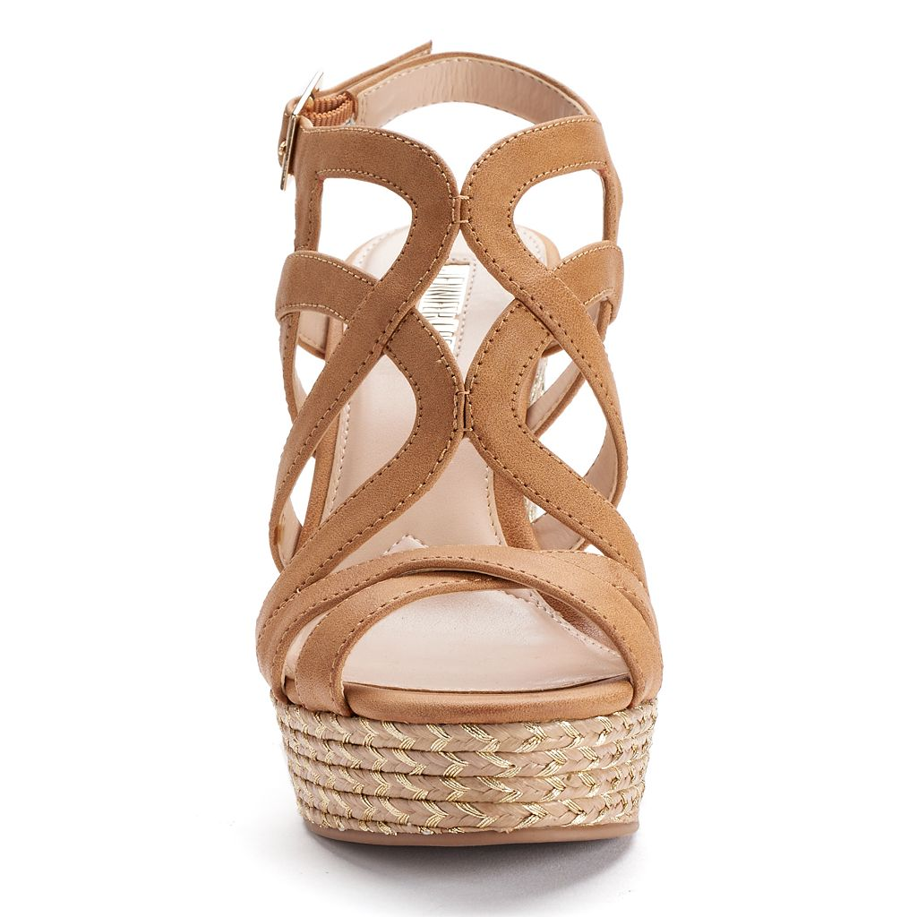 Jennifer Lopez Women's Espadrille Wedge Sandals
