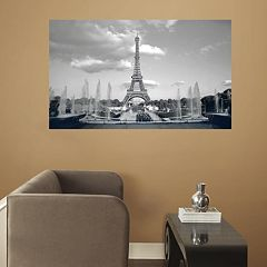 RoomMates Paris Eiffel Tower Peel & Stick Mural Wall Decal