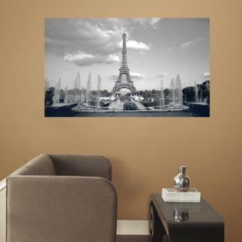 RoomMates Paris Eiffel Tower Peel & Stick Mural Wall Decal