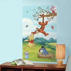 Disney Winnie the Pooh & Friends Peel & Stick Mural Wall Decal by RoomMates