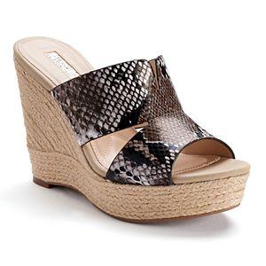 Jennifer Lopez Suri Women's Espadrille Wedge Sandals