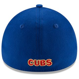 Adult New Era Chicago Cubs 39THIRTY 2016 World Series Champions Flex-Fit Cap