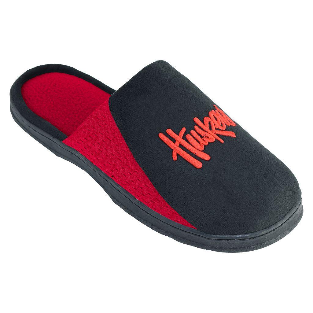 Men's Nebraska Cornhuskers Scuff Slippers