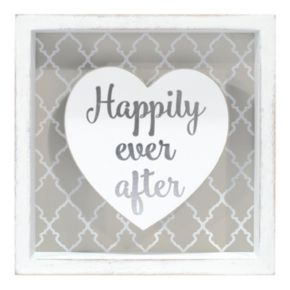 "Malden ""Happily Ever After"" Box Sign Art"