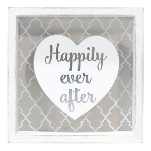 """Malden """"Happily Ever After"""" Box Sign Art"""
