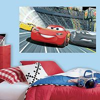 Disney / Pixar Cars 3 Peel & Stick Mural Wall Decal by RoomMates