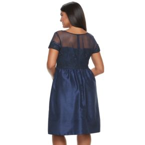 Plus Size Chaya Fit & Flare Evening Dress
