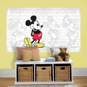 Disney's Mickey Mouse Peel & Stick Mural Wall Decal by RoomMates