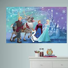 Disney's Frozen Peel & Stick Mural Wall Decal by RoomMates
