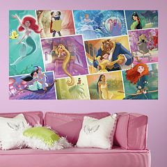 Disney Princess Storybook Peel & Stick Mural Wall Decal by RoomMates
