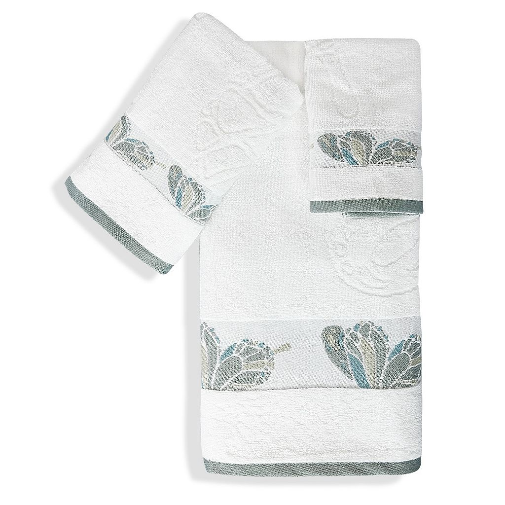 Popular Bath Shell Rummel 3-piece Butterfly Towel Set