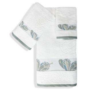Popular Bath Shell Rummel 3-piece Butterfly Towel Set