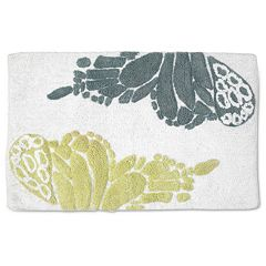 Popular Bath Shell Rummel Butterfly Bath Rug