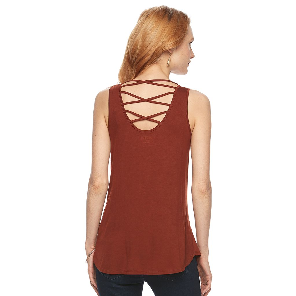 Women's Apt. 9® Embellished Strappy Tank