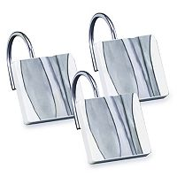 Popular Bath Shell Rummel 12-pack Tidelines Shower Curtain Hook