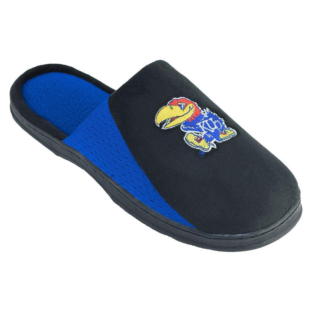 Men's Kansas Jayhawks Scuff Slippers