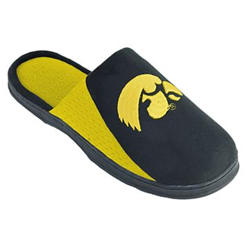 Men's Iowa Hawkeyes Scuff Slippers