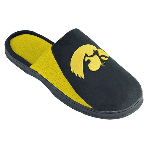 Men's Iowa Hawkeyes Scuff Slippers